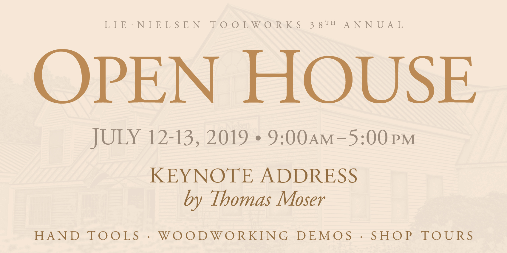 Lie-Nielsen Open House