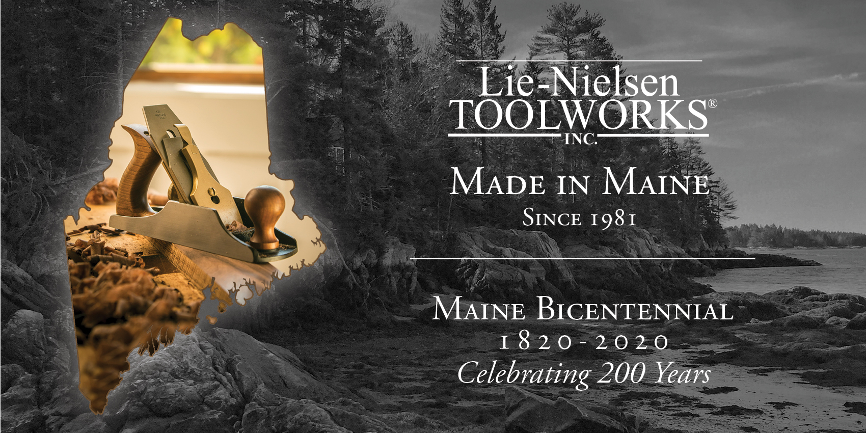 "Celebrating Maine's Bicentennial and the proud tradition of ""Made in Maine"" since 1981"