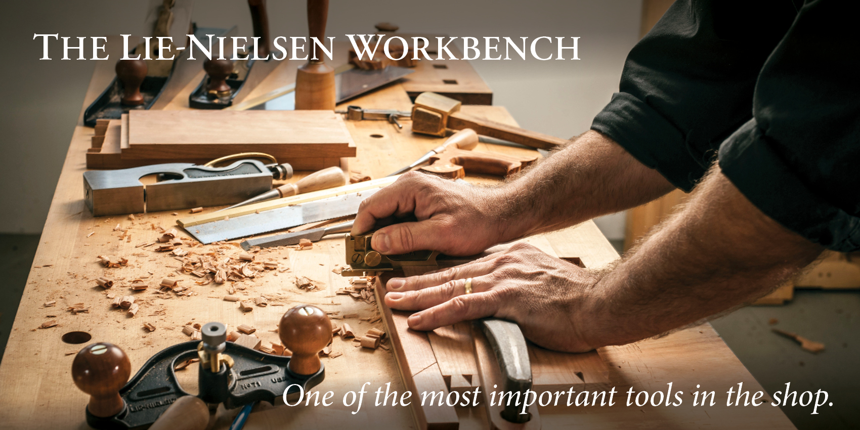 Lie-Nielsen Workbenches