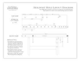 Holdfast Hole Layout