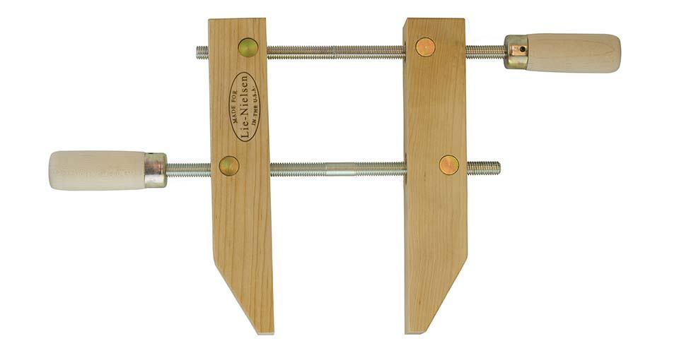 Wooden hand screw clamp quot lie nielsen toolworks