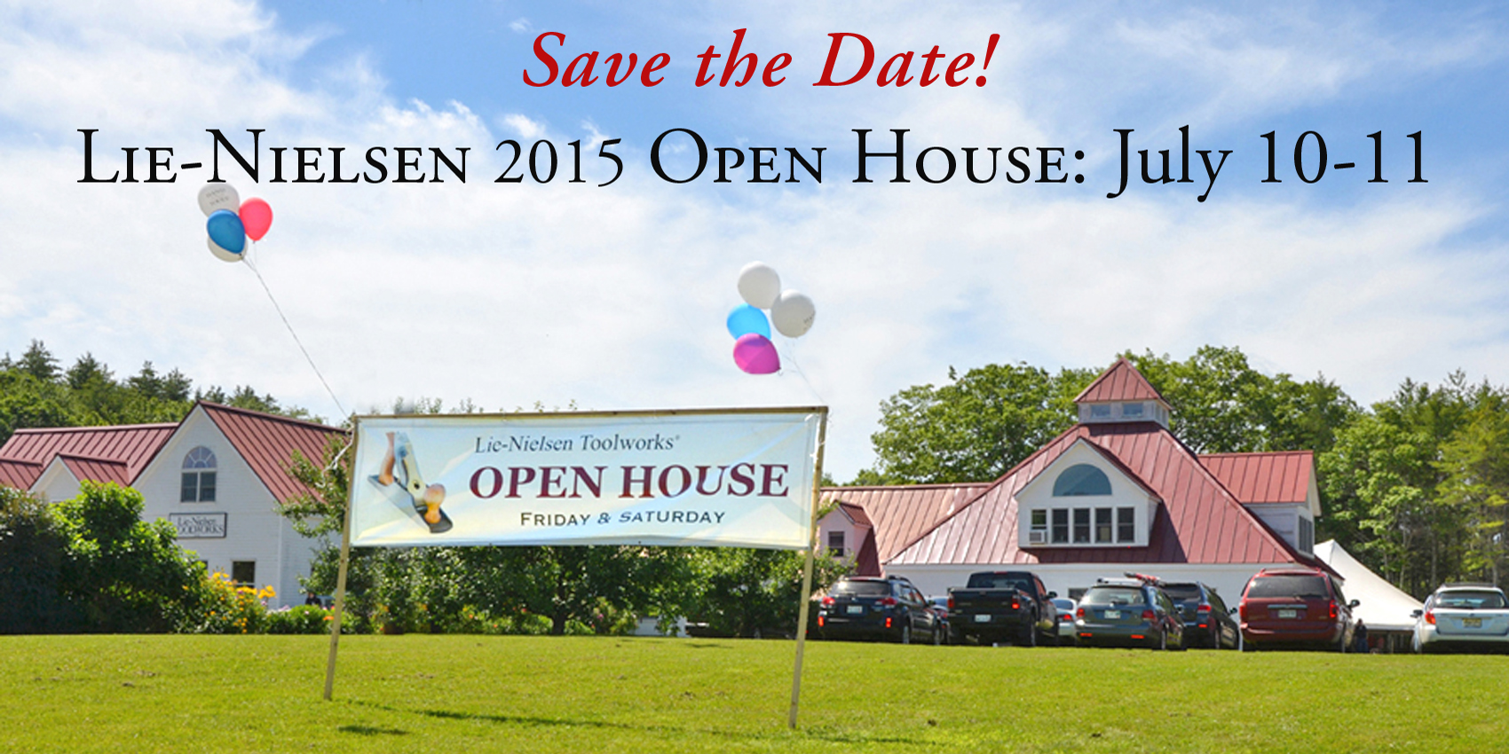 Lie-Nielsen 2015 Open House