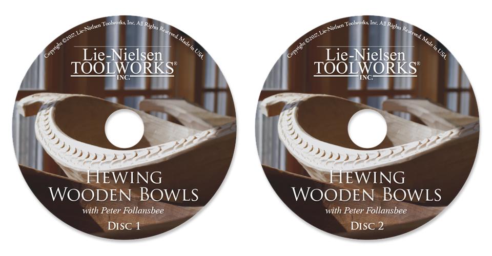hewing wooden bowls with peter follansbee