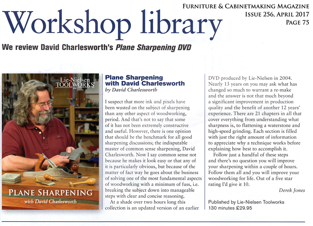 David Charlesworths FurnitureMaking Techniques Volume Two